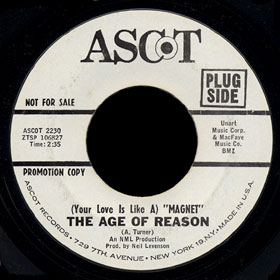 The Age of Reason Ascot 45 (Your Love Is Like a) Magnet