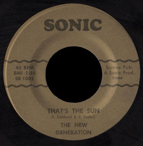 New Generation Sonic 45 That's The Sun