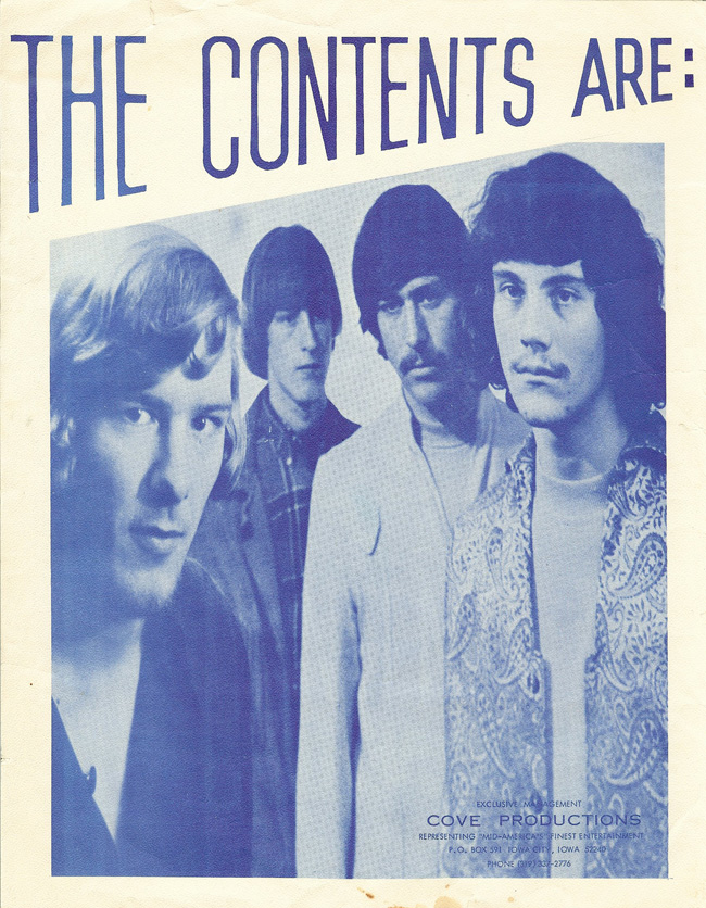 The Contents Are promotional photo