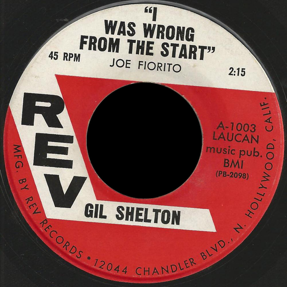 "Gil Shelton, Rev A-1003 ""I Was Wrong from the Start"""
