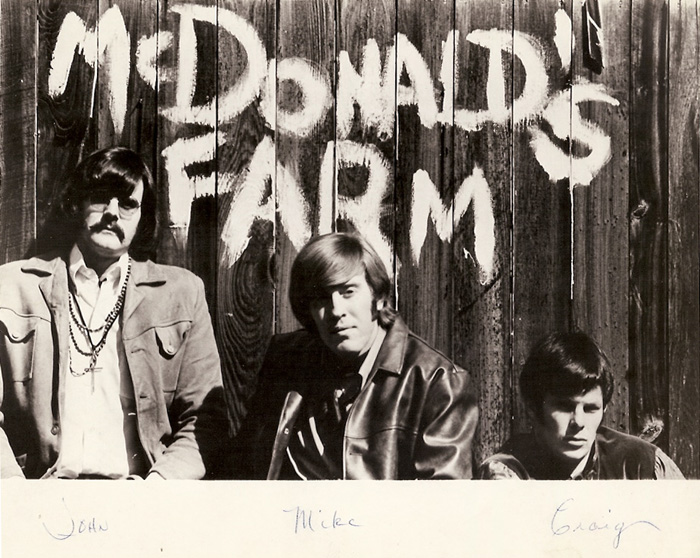 McDonald's Farm: John Harris, Mike McDonald and Craig Boyd