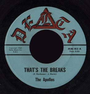 Apollos Delta 45 That's the Breaks