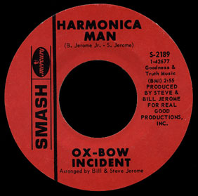 Ox-Bow Incident Smash 45 Harmonica Man