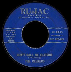 Reekers Ru-Jac 45 Don't Call Me Flyface