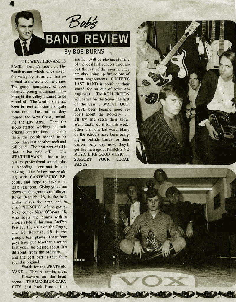 Bob Burns review from Modesto station KFIV/136 Spotlight, Vol. 2 No. 18