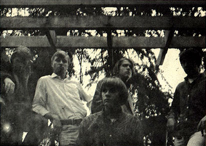 Weathervane, 1967, l-r: Bob Wilson, Ed Bowman, Mike O'Bryan, Kevin Beamish and Steffen Presley
