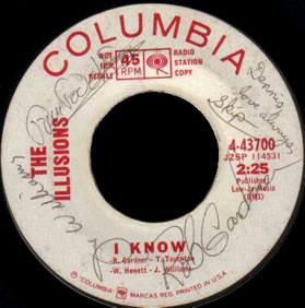 Illusions Columbia 45 I Know