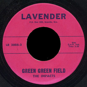 Impacts Lavender 45 Green Green Field