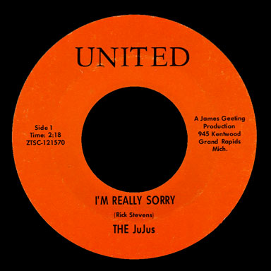 JuJus United 45 I'm Really Sorry