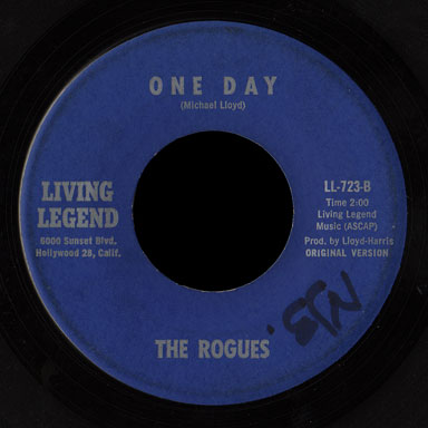 The Rogues Living Legend 45 One Day