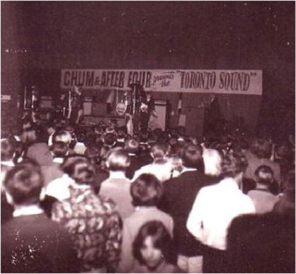 5 Rising Sons at CHUM's Toronto Sound Show, 1966