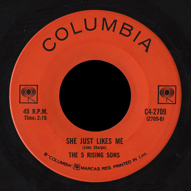 5 Rising Sons Columbia 45 She Just Likes Me