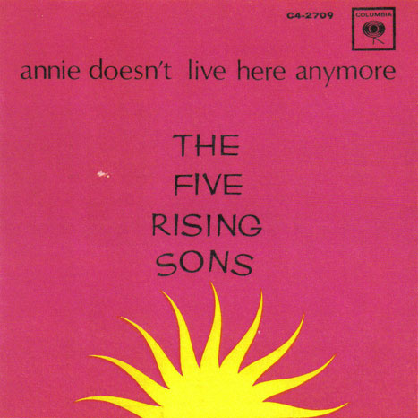 Five Rising Sons Columbia PS Annie Doesn't Live Here Anymore