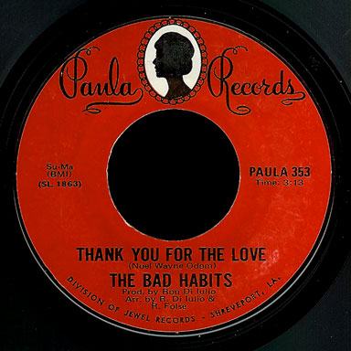Bad Habits Paula 45 Thank You For The Love