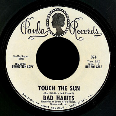 Bad Habits Paula 45 Touch The Sun