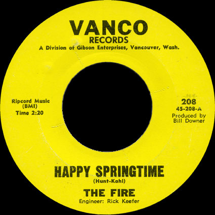 The Fire Vanco 45 Happy Springtime