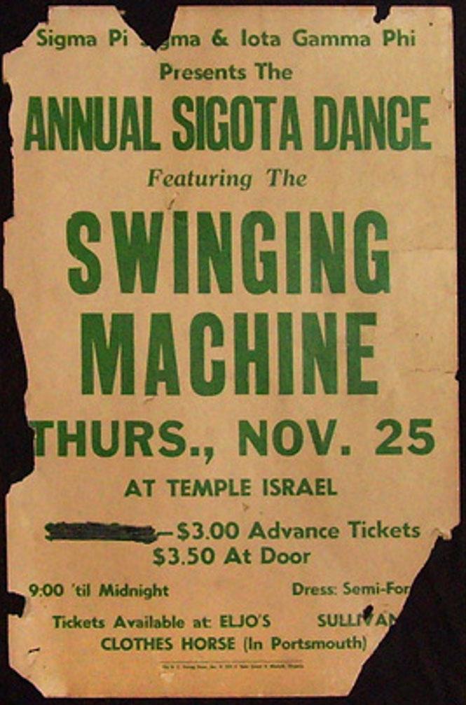 swinging machine