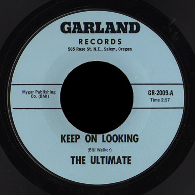 The Ultimate Garland 45 Keep On Looking