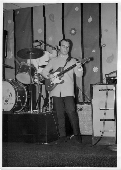 Stan Stotts at the Take 5 Club, 1969