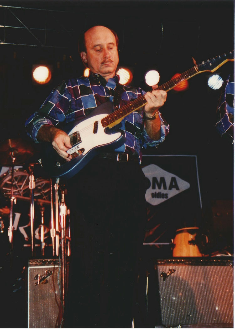 Stan Stotts at the KOMA Rock n' Roll Reunion, State Fair Grounds, OKC 1994.