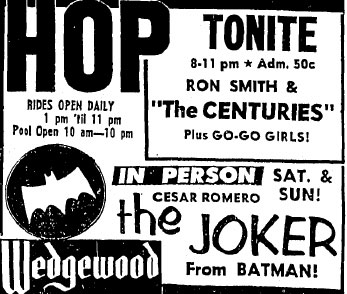 Ad for the Wedgewood, June 1, 1966