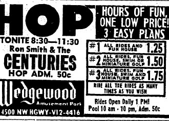 Ad for the Wedgewood, July 15, 1966