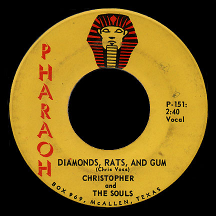 Christopher & the Souls Pharaoh 45 Diamonds, Rats, and Gum
