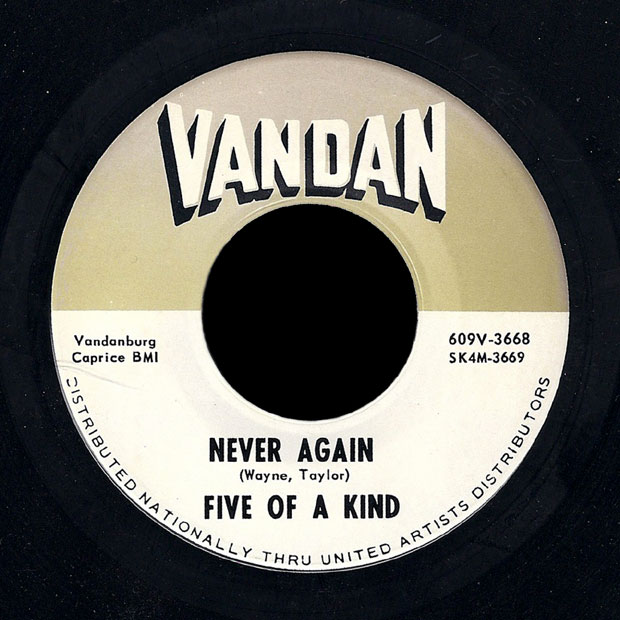Five of a Kind Vandan 45 Never Again