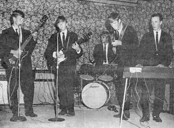The Individuals, from left: Tommy Redd, Ronnie Vaughan, Ronnie Couch, Ben Vaughan and Sammy Moser