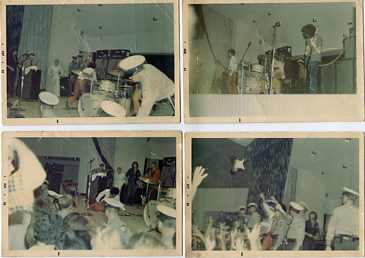 Jimi Hendrix And The Soft Machine At The Virginia Beach