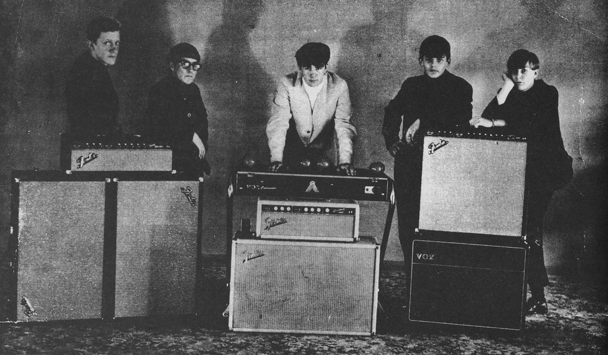 The Journeymen, 1966, from left
