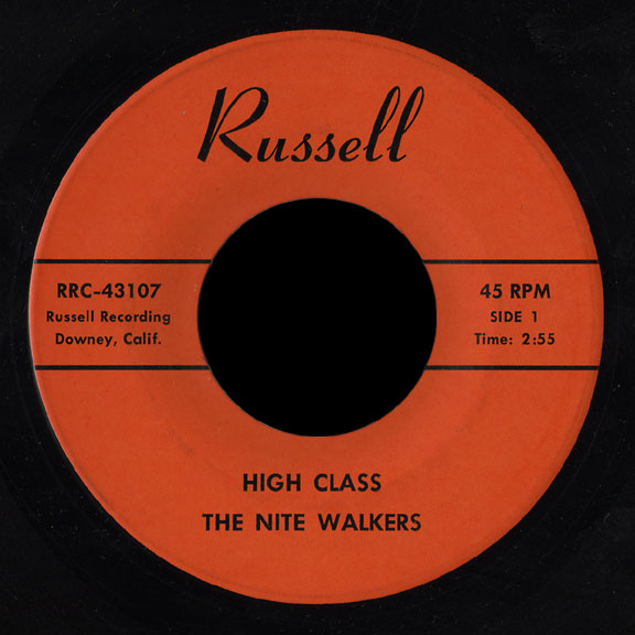 The Nite Walkers Russell 45 High Class