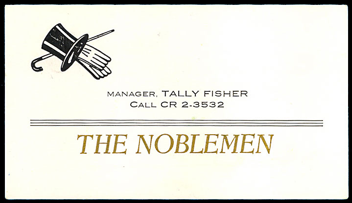 Noblemen (KS) business card