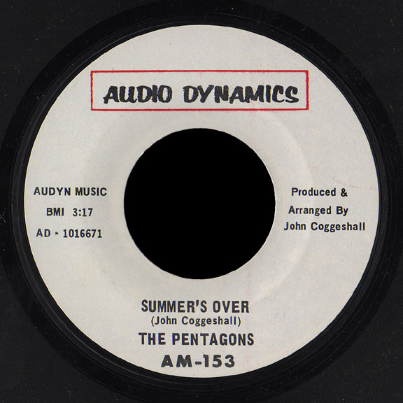 Pentagons Audio Dynamics 45 Summer's Over