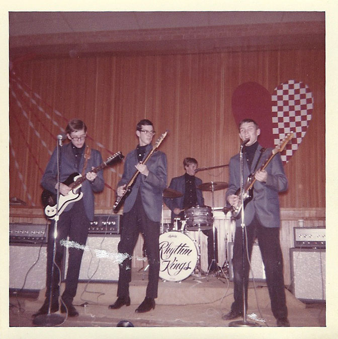 Rhythm Kings, from left: Jimmy Reese, Phil Patterson, James Parrish, and Wayne Taylor