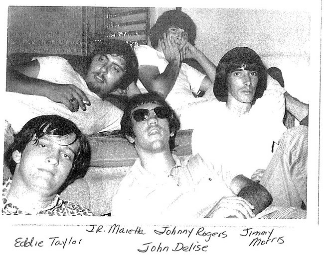 Rovin' Flames Summer of '67, with John Delise and new drummer Eddie Taylor