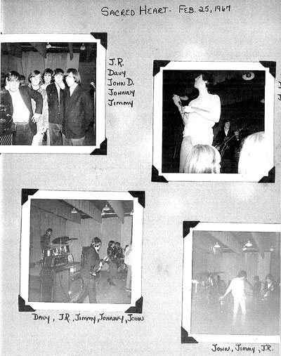 Rovin' Flames at the Sacred Heart Academy, February 25, 1967