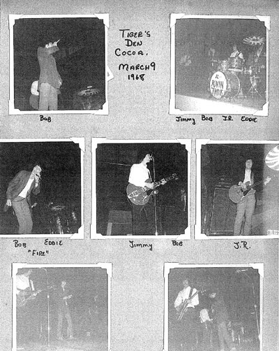 Rovin' Flames at the Tigers Den in Cocoa, March 9, 1968