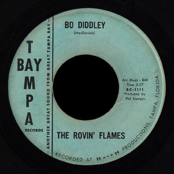 Rovin' Flames Tampa Bay 45 Bo Diddley