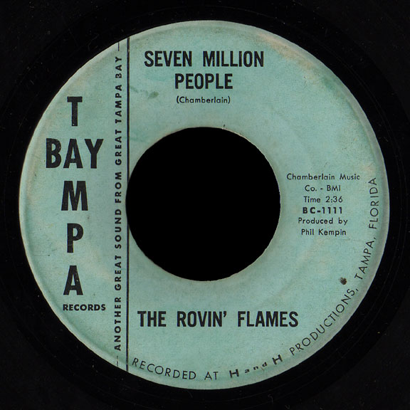 Rovin' Flames Tampa Bay 45 Seven Million People