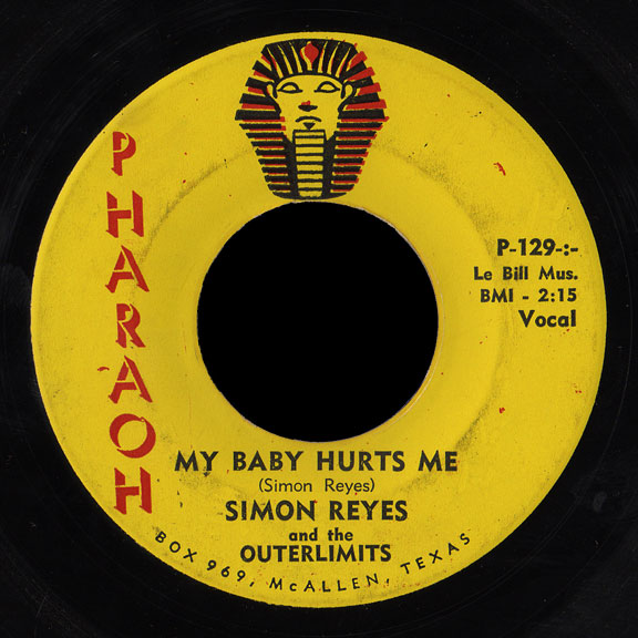 Simon Reyes and the Outerlimits Pharaoh 45 My Baby Hurts Me