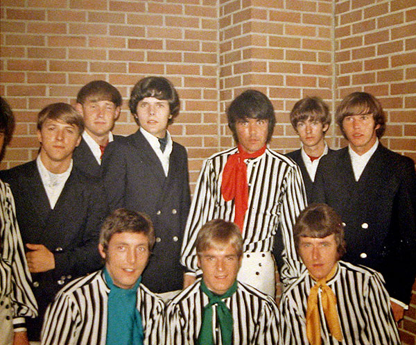 The Voxmen with the Dave Clark Five, at the Greenville Auditorium