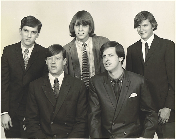 The Wig - from left: Jess Yaryan, Rusty Wier, Benny Rowe, Bill Wilmot and Johnny Richardson. Thanks to Liz for the correction.