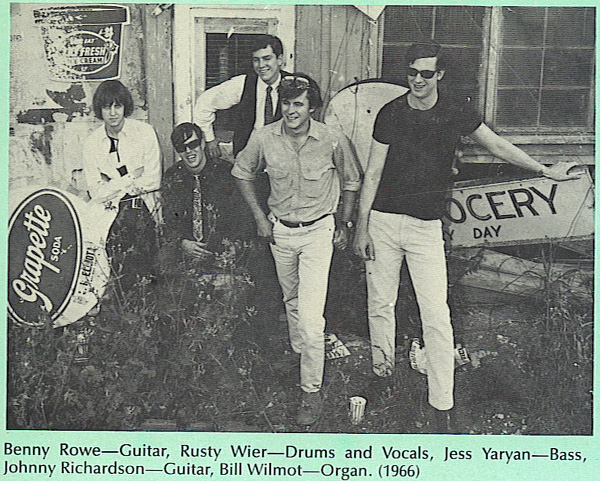 The Wig - Benny Rowe, Rusty Wier, Jess Yaryan, Johnny Richardson and Bill Wilmot
