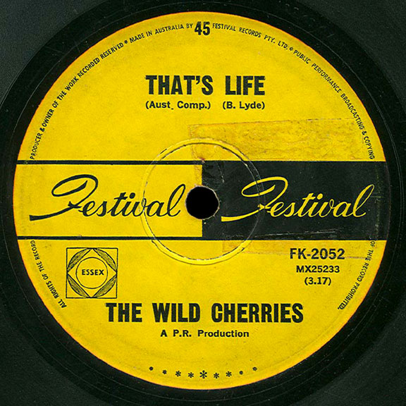 Wild Cherries Festival 45 That's Life