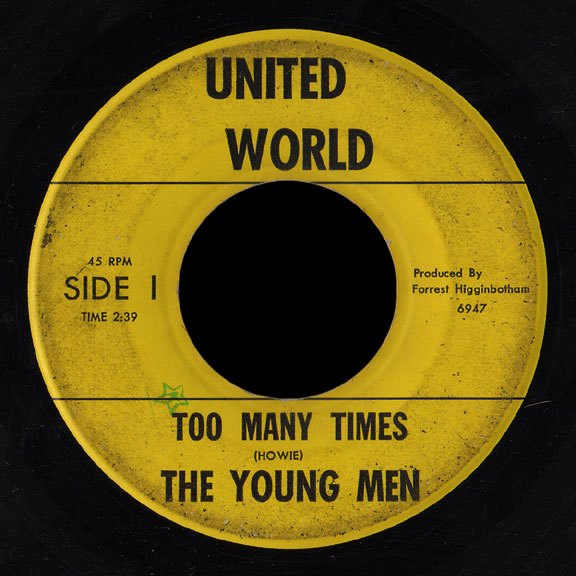 Young Men United World 45 Too Many Times
