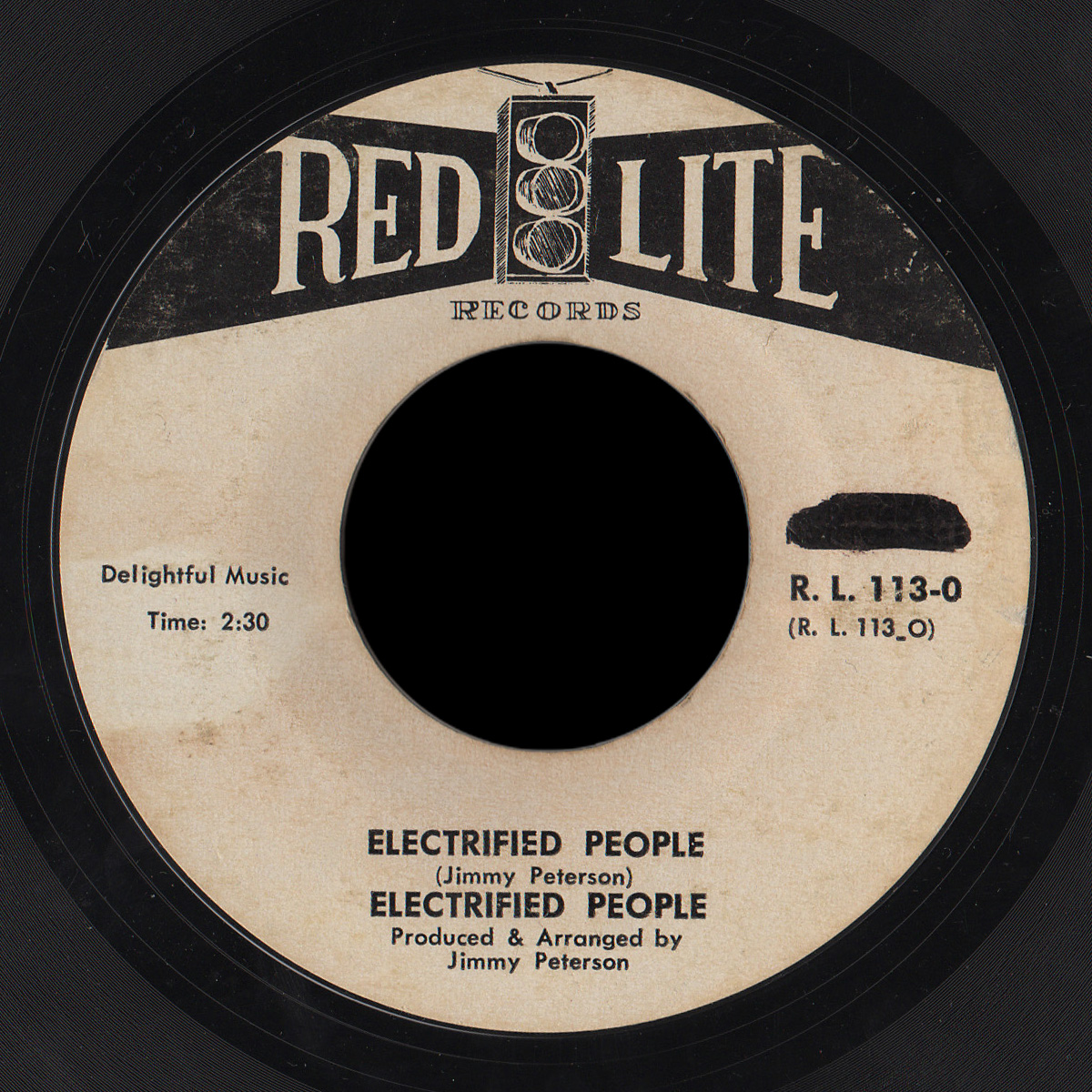 Electrified People Red Lite 45 Electrified People