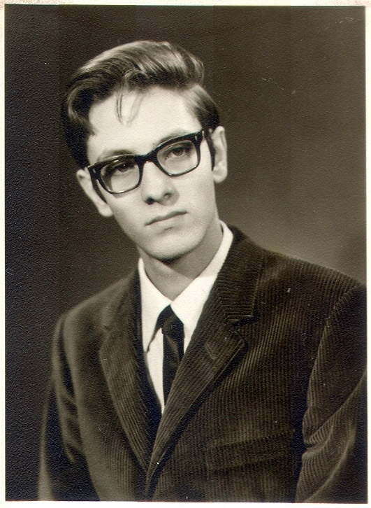 Johnny Carr, graduation pic, June 1966.