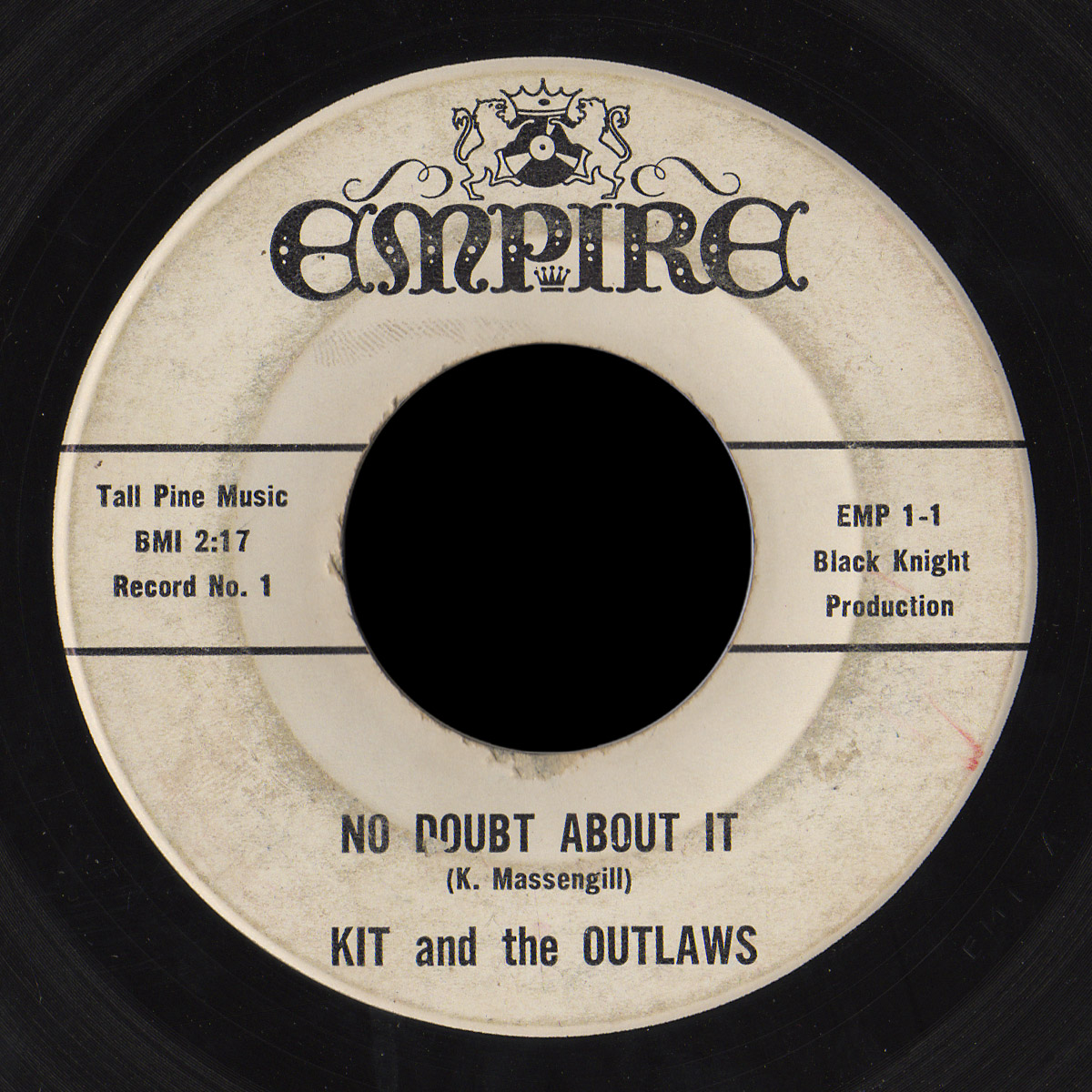 Kit and the Outlaws Empire 45 No Doubt About It