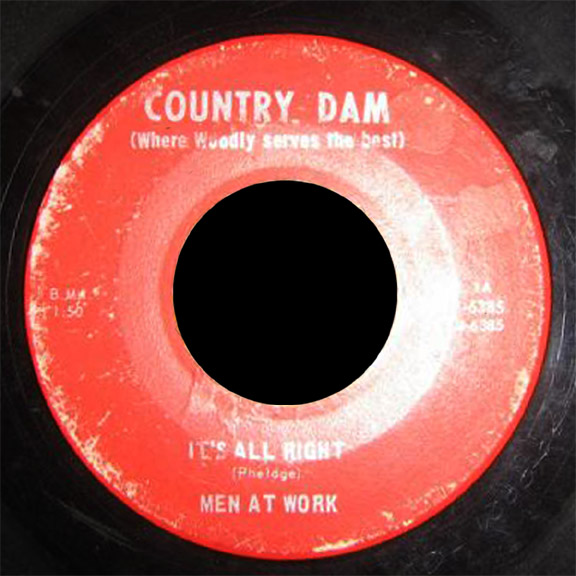 Men At Work Country Dam 45 It's All Right
